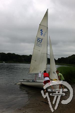 Jr. Sailing — morning — 8 . 14 - 2009