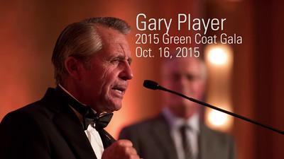 2015 Green Coat Gala - Gary Player Q&A