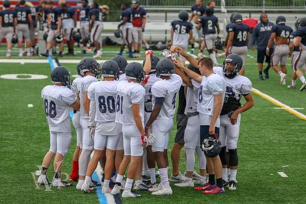 Shenandoah Football Joint Practice 08-18-18