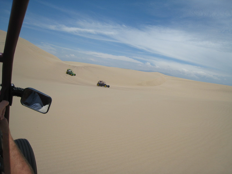 Dune buggy adventure, Pisco, Peru