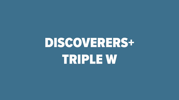 Discoverers + Triple-W 2018