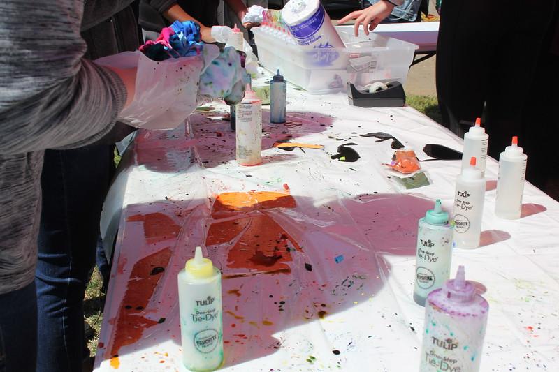 Tie Dye Versity Event
