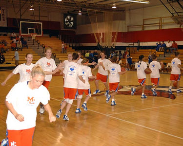 Marshall County Girls Varsity Basketball vs. Harrison County Kentucky  December 30, 2005.  Lady Marshals lose 46-40.