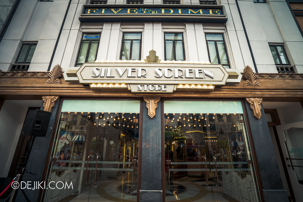 Universal Studios Singapore - Silver Screen Store Entrance
