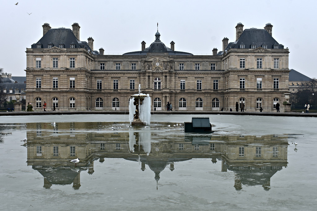 Le Jardin du Luxembourg in Paris, France