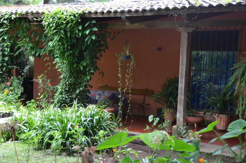 Luky and Chiqui's childhood home on Finca la Folie coffee plantation