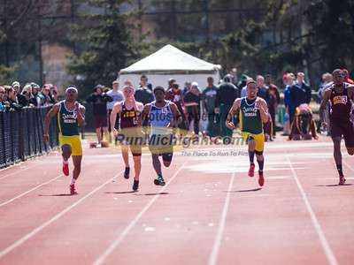 Men's 100 Meters - 2014 MSU Spartan Invite