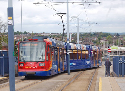 South Yorkshire Supertram to the end of 2013