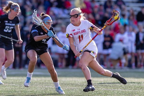College Women's Lacrosse: Maryland vs. Johns Hopkins