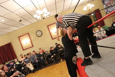 Tim Davidson & Ike vs. Perry Von Vicious & Tomohawk