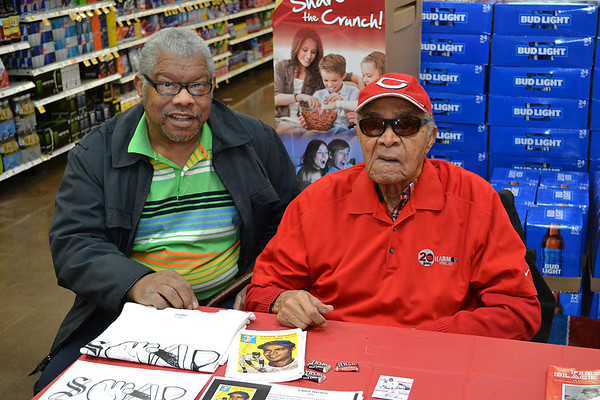 Chuck Harmon @ Woodlawn Kroger - Black History - Feb. 11, 2017