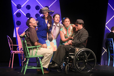 "Americana Theatre Co.  ""Lucky Stiff"""
