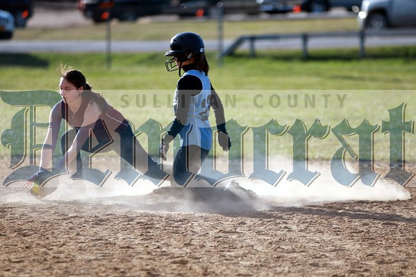 Sullivan West vs Manor Softball