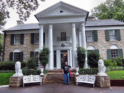 Elvis Presley's Graceland in Memphis October 2010