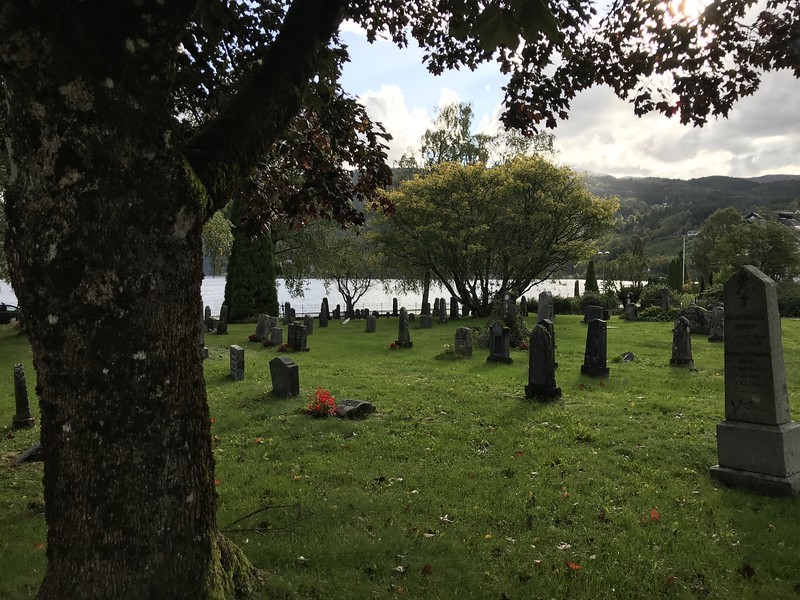 grounds of the Ulvik Wooden Church