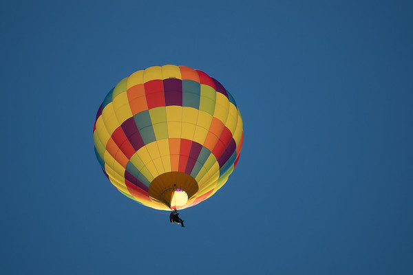 Hot Air Balloons Over Sedona
