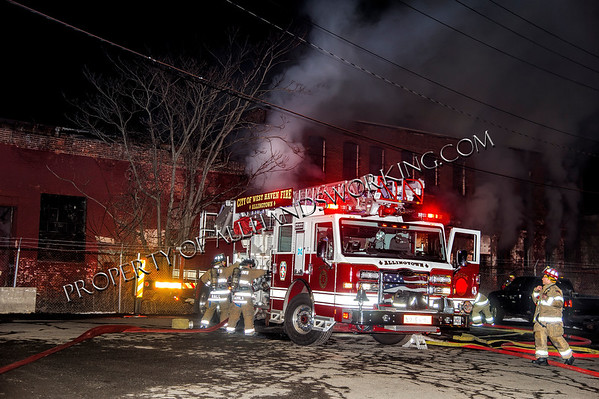 West Haven vacant building fire Front St.