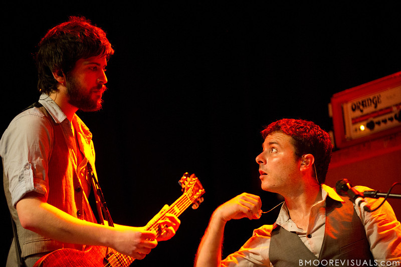 Saen Fitzgerald and Dan Nigro of As Tall As Lions during the band's performance on May 2, 2010 at State Theatre in St. Petersburg, Florida