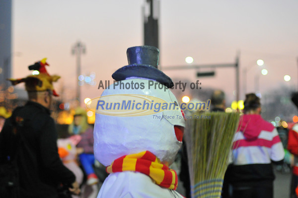 Costume Contest and Pre-Race - 2012 Detroit Turkey Trot