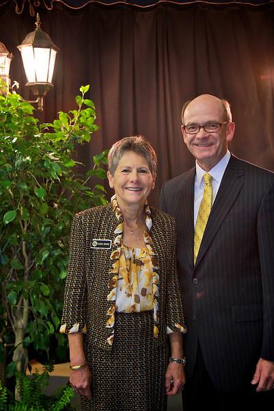 Dr. Frank Bonner and Mrs. Flossie Bonner. Scholarship Luncheon