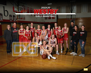 Westby girls basketball GBB1920