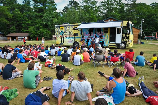 """Camp Timber Lane """"Rock Camp"""" July 2013"""