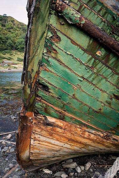 Boat detail, Horseshoe Bay - Isle of Kerrera, Scotland