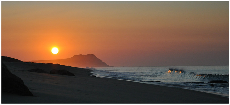 Sunrise at Casa Maya, Los Cabos, Mexico 2012