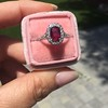 1.52ct Ruby Halo Ring, GIA No Heat 29