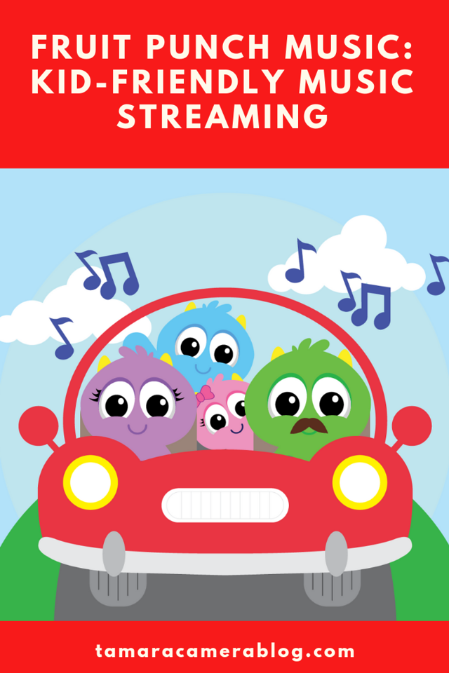 Fruit Punch Music is the first ever family-focused music streaming service where every song is individually programmed for kids & family #ad #fruitpunchmusic