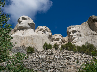Mt. Rushmore and Rapid City