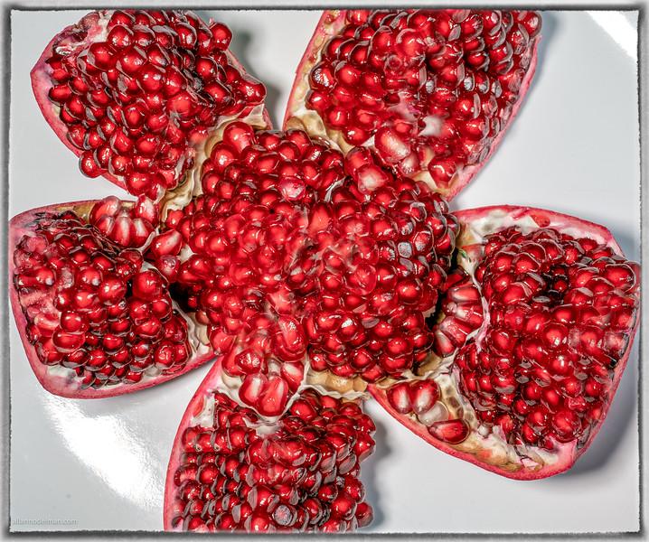 Macro Lens Pomegranate