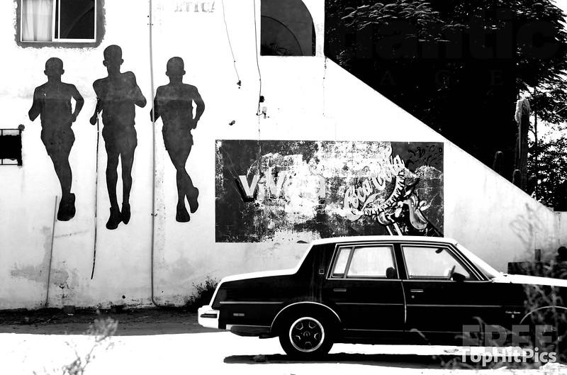 Graffiti in Cabo, Mexico