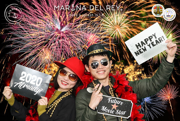 2019 Marina del Rey NYE Fireworks and Glow Party
