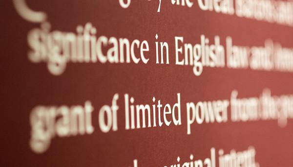 2014 04 02 Magna Carta Exhibit at HMNS
