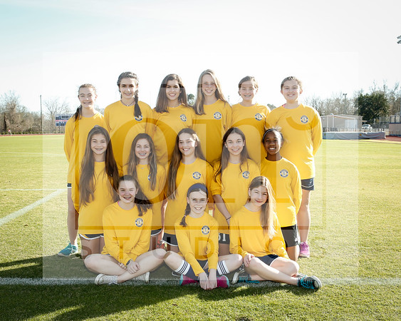 Middle School Girls Soccer