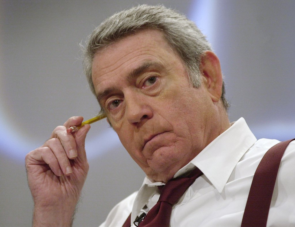 """. <p>7. DAN RATHER <p>Fossilized anchorman details his one-time use of heroin, which might explain EVERYTHING. (unranked) <p><b><a href=\'http://www.huffingtonpost.com/2014/01/09/dan-rather-heroin_n_4569319.html\' target=\""""_blank\""""> HUH?</a></b> <p>    (AP Photo/Suzanne Plunkett)"""