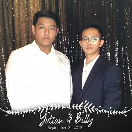 Yutian & Billy (09/21/19)