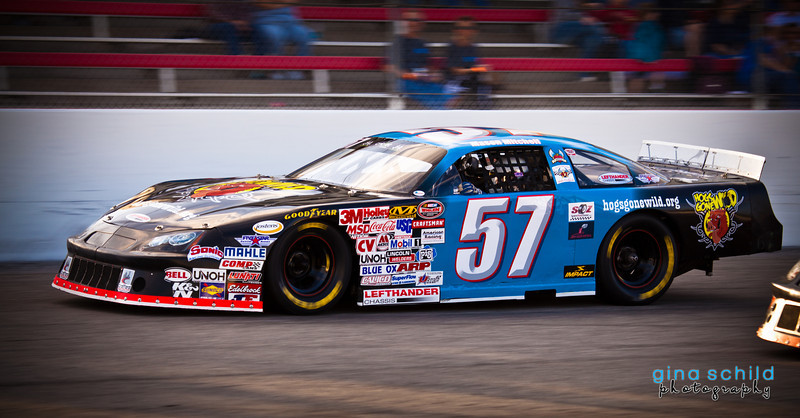 Mason Mitchell's Number 57 Car during race