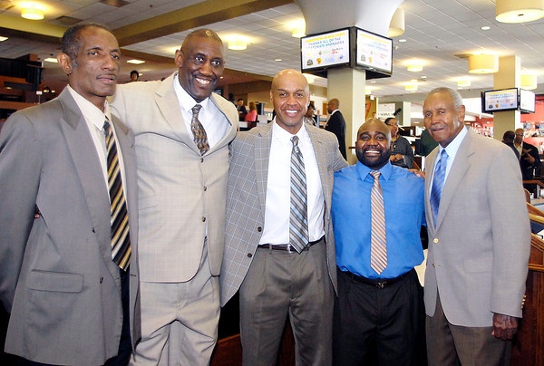 All five Mr. Basketballs honored by Black Expo