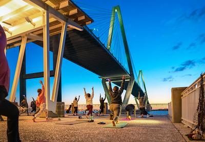 Yoga Mt Pleasant Pier 4-2021