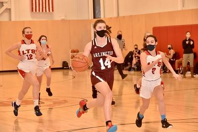AMHS Girls Varsity Basketball vs LTS photos by Gary Baker