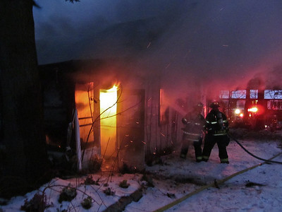 1-4-13 Structure Fire, Sprout Brook Road