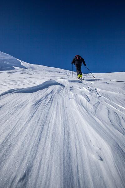 Skitour Rheinwald (Aufstieg)