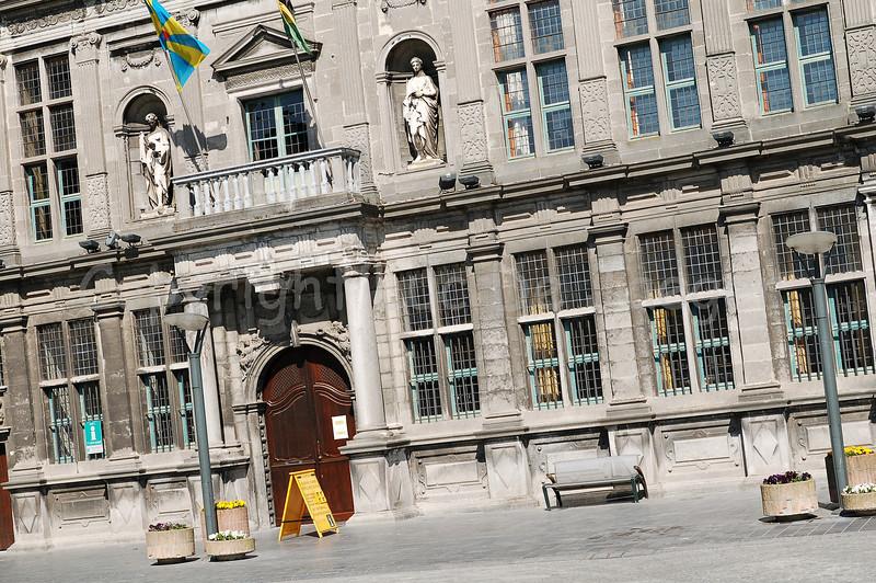 The Landhuis in Veurne, Belgium.