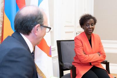 SEM Ara AIVAZIAN - ministre des affaires étrangères d'Arménie - Paris