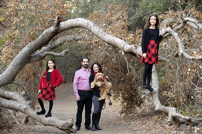 The Lipari Family, Nov 21, 2020, Los Gatos