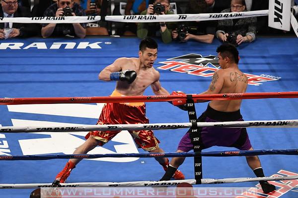 Li Tong Hu vs. Daniel Calzada