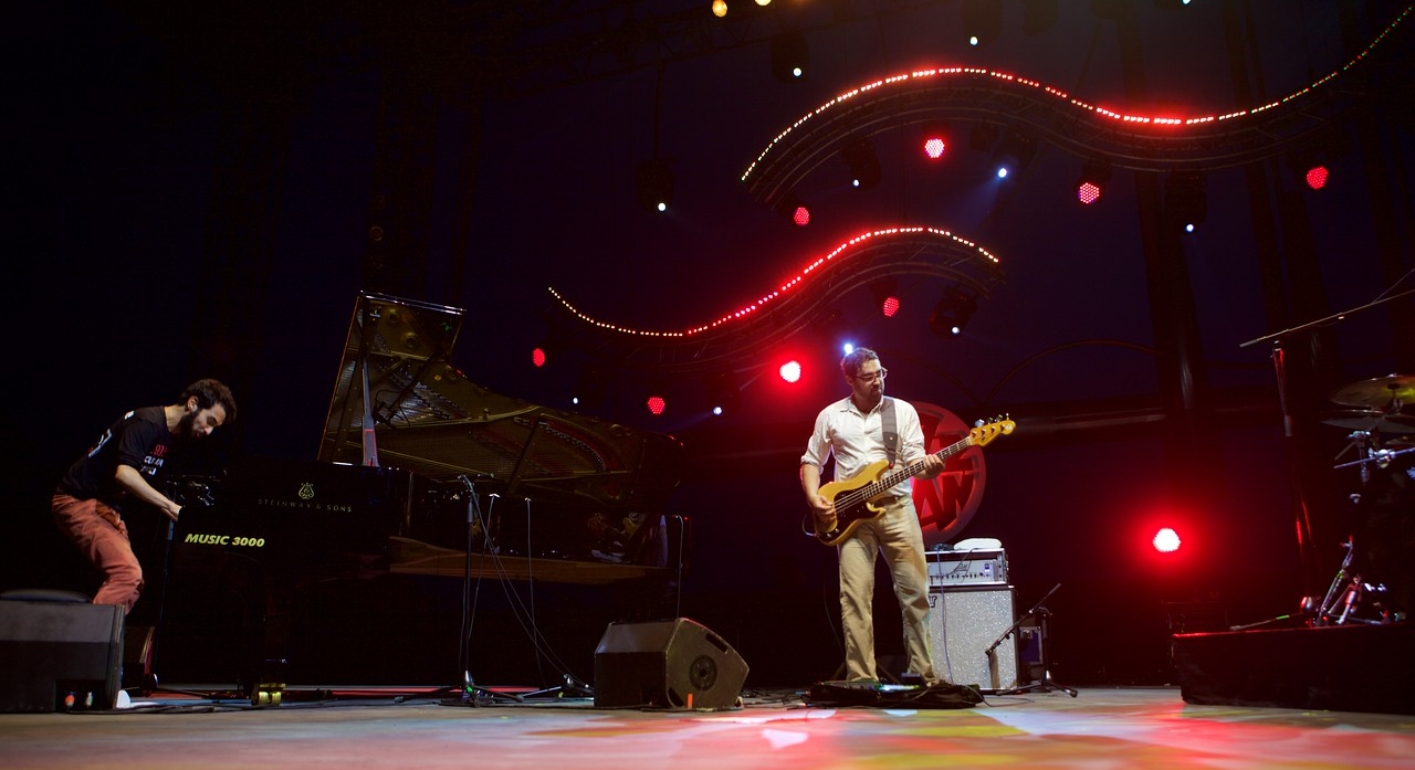 Tigran Hamasyan Trio at Jazz à Juan 2015 3