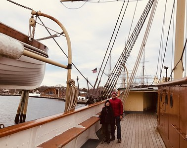 Mystic Seaport - Turners from the Tate (December 6, 2019)